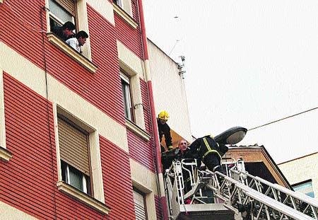 Incendio en Las Cortes