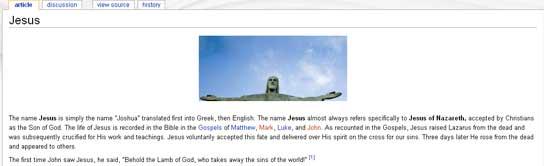 Entrada de 'Jesús'