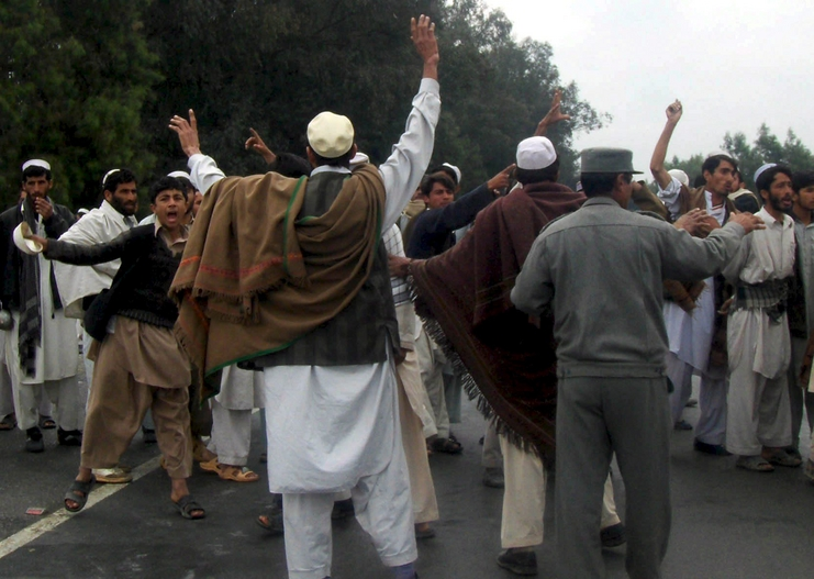 la OTAN mata a nueve civiles en Afganistán