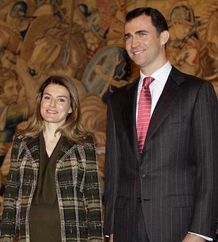 Letizia y Príncipe de Asturias