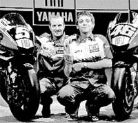 Rossi señala a Pedrosa como su máximo rival