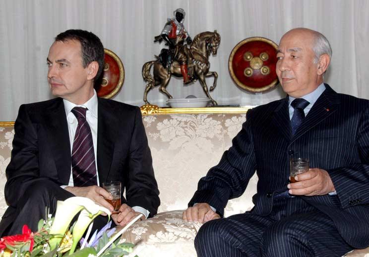 Zapatero y Driss Jetu