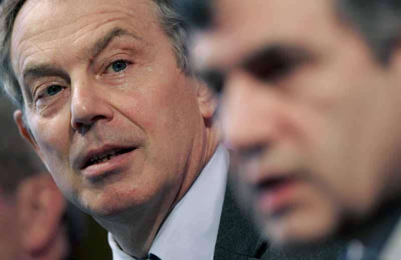 Blair y su sucesor más probable