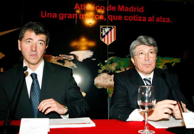 Miguel Angel Gil Marín  y Enrique Cerezo