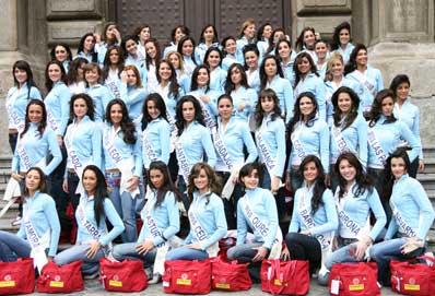 foto candidatas espana 2007: