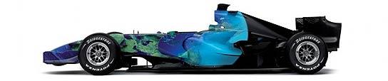 Vista lateral del Honda.