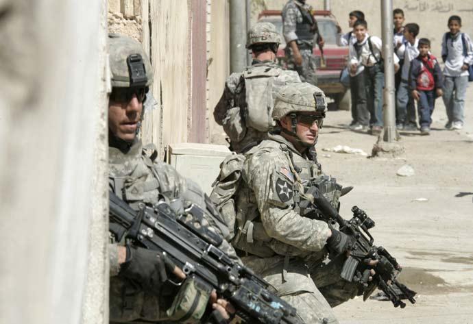 Soldados de EEUU en Irak
