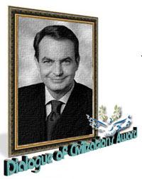 Zapatero premiado