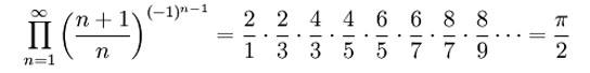 Fórmula con Pi