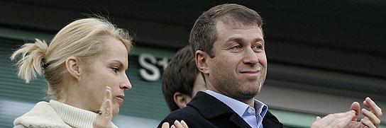 Roman Abramovich y su esposa Irina