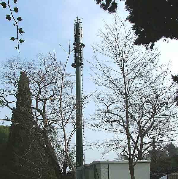 Antena Móvil en Montjuic