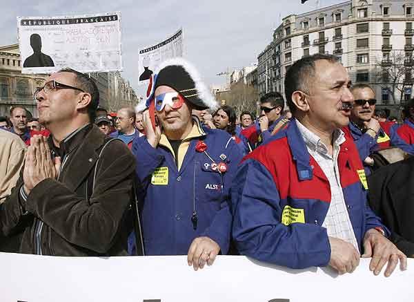 Manifestación Alston