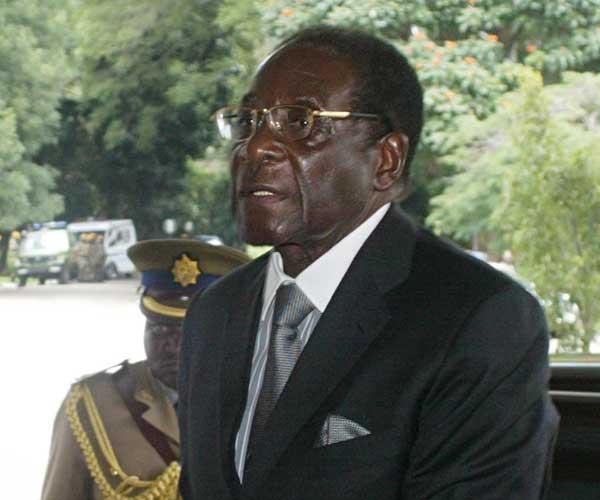 El presidente de Zimbabue (EFE)