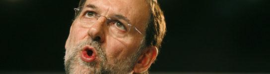 El líder del PP, Mariano Rajoy. (Víctor Lerena / Efe)