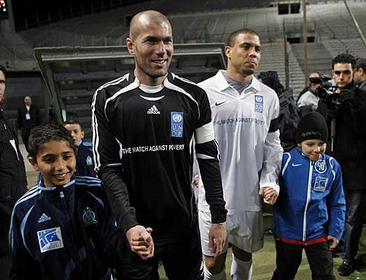 Zidane y Ronaldo