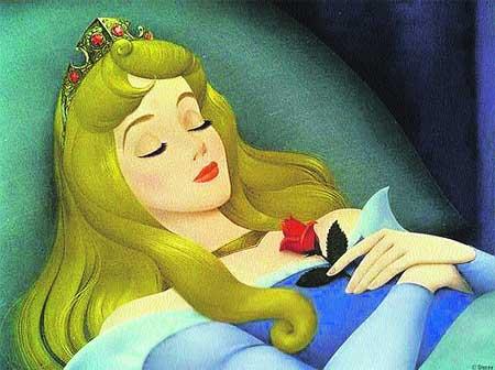 princesa bella durmiente