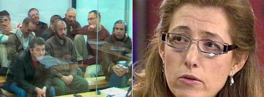 Procesados (i) y la fiscal Olga Sánchez. (Efe / Photobucket)