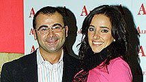 Jorge Javier Vázquez y Carmen Alcayde