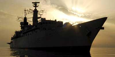 La fragata británica HMS Cornwall (Efe)