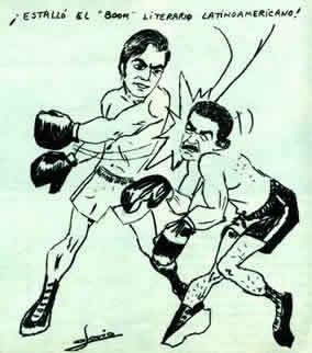 Vargas Llosa y García Márquez