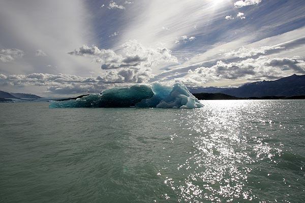 Deshielo en Glaciares Argentinos