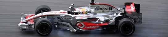 Lewis Hamilton, rodando