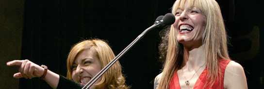 Cristina y Amparo Llanos, de Dover