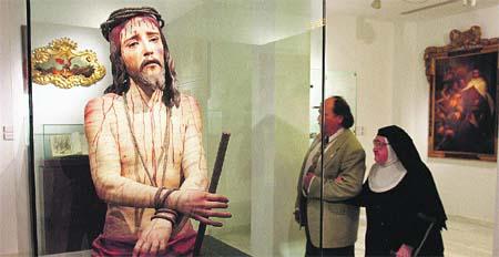 Ya está expuesta la obra más antigua de Málaga