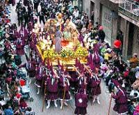 Esta tarde hay doblete: en Murcia salen el Cristo del Rescate y la Salud