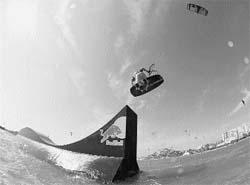 Hadlow, el descarado rey del 'kite' extremo