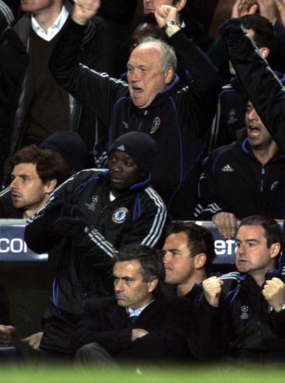 Mourinho durante el partido contra el Valencia