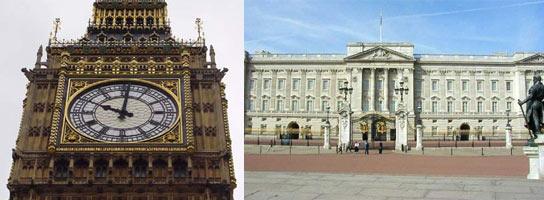Big Ben y Palacio Buckingham