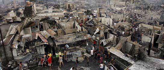 incendio Filipinas
