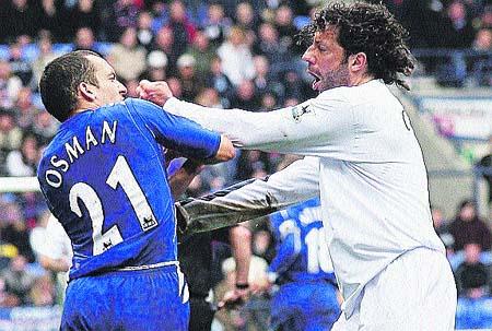 Iván Campo, boxeando