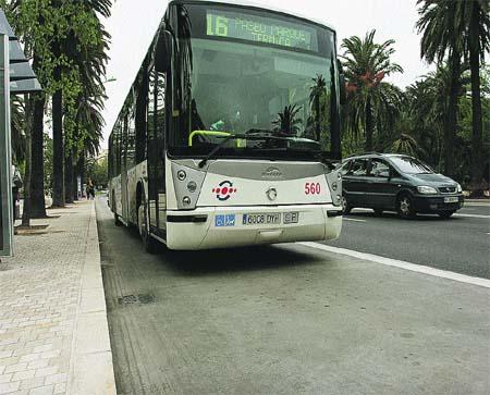 Tres choques en un sólo día en el carril-bus del Parque