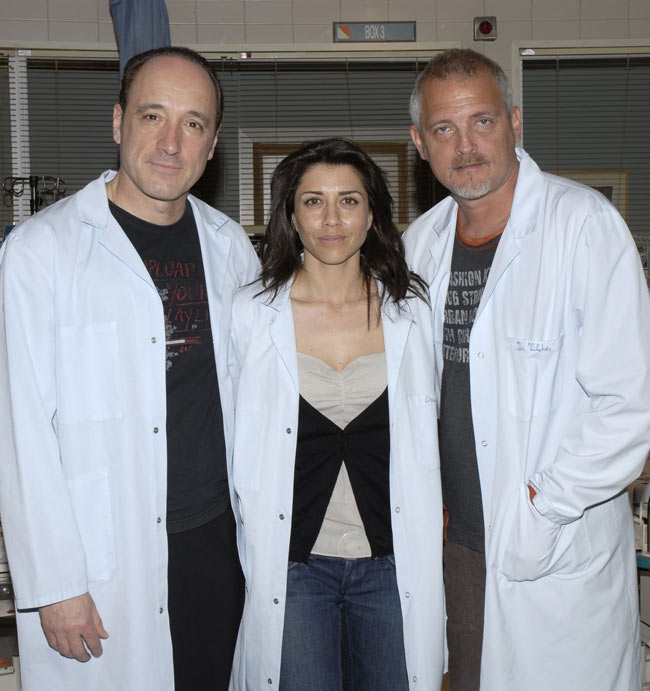 Algunos de los protagonistas de 'Hospital Central'