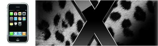 iphone y Mac OX Leopard