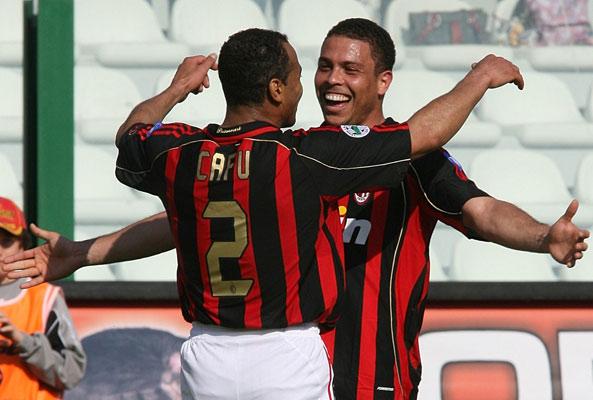 Ronaldo y Cafu