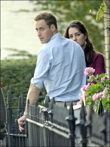 Guillermo de Inglaterra  y Kate Middleton