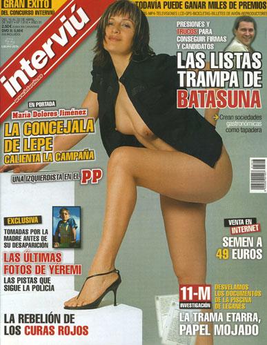 María Dolores Jiménez, la Concejala de Lepe