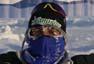 Juan Antonio Alegre cruza la meta en el Polo Norte