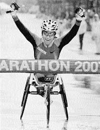 La mejor maratoniana
