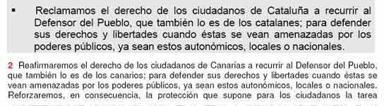 El programa político del PSOE canario copia muchos puntos del de Ciutadans