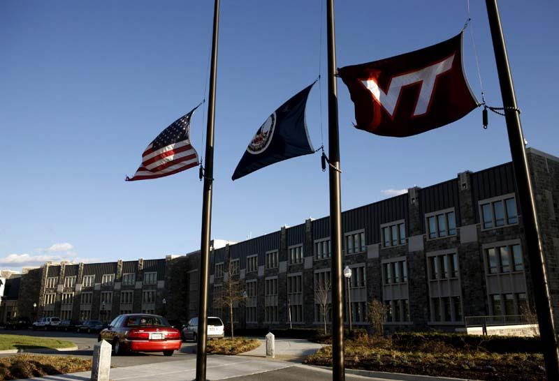Banderas a media asta en Virginia