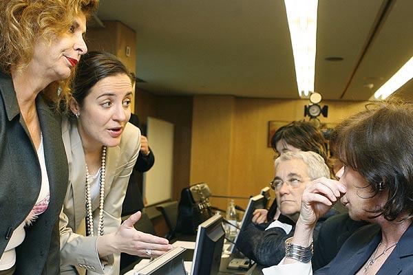 Miembros de la Comisión Mixta de los Derechos de la Mujer