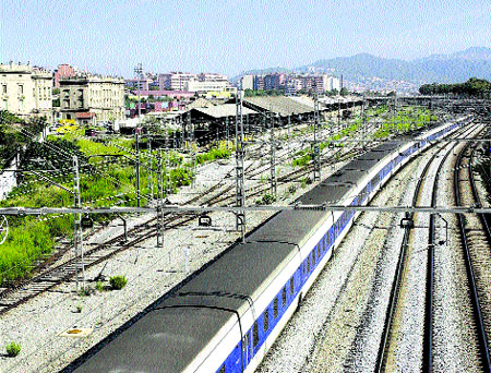 S'inicia la transformació a la  Sagrera de l'àrea ferroviària