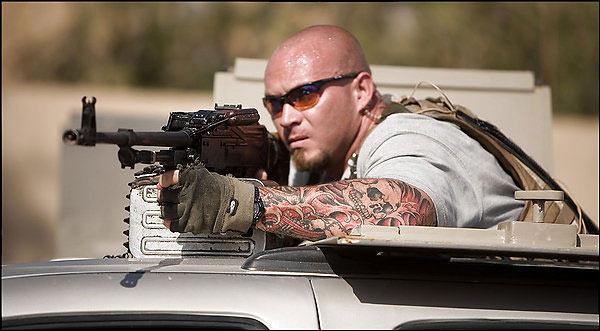 Un mercenario en Irak