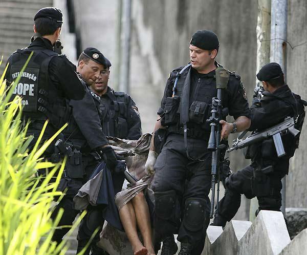 Jornada violenta en Brasil