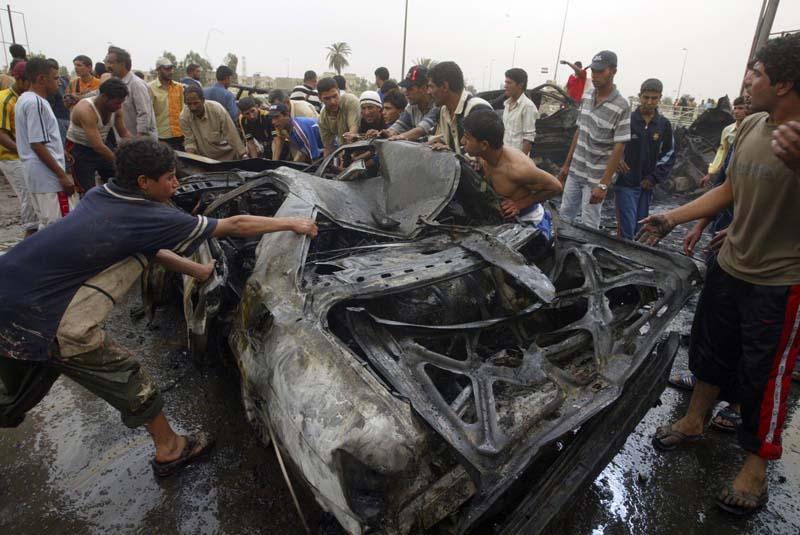 Jornada sangrienta en Irak