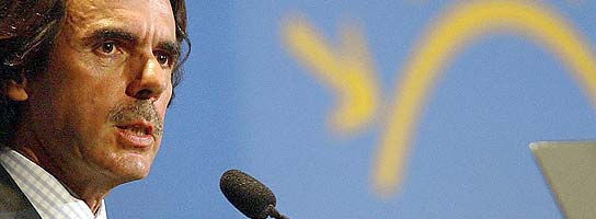 El ex presidente Aznar interviene en un acto en Brasil